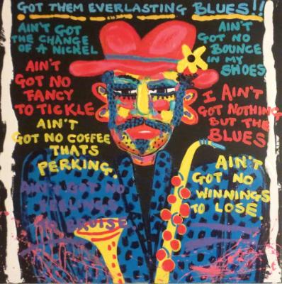 EVERLASTING BLUES.